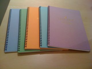 twin ring notebooks