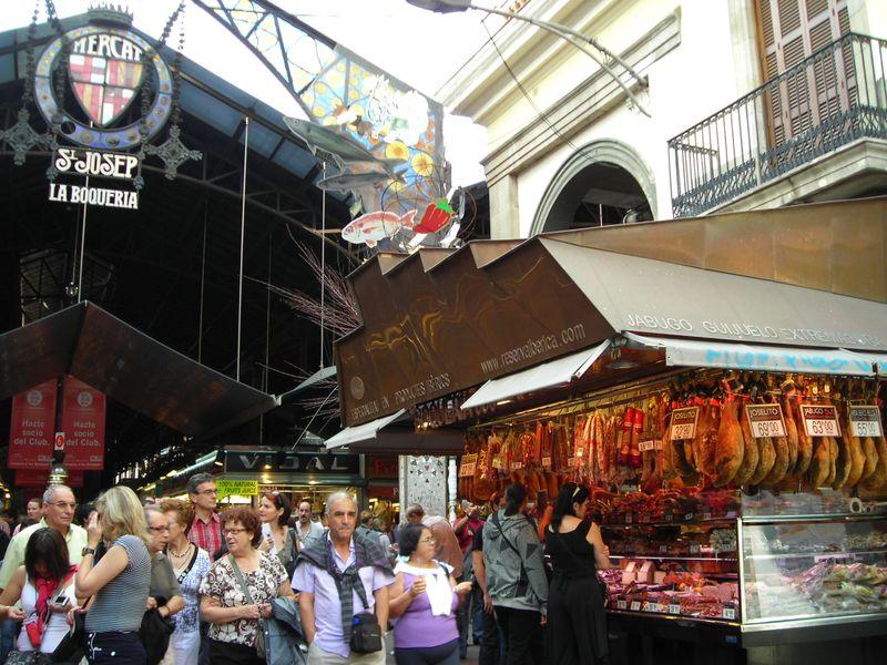 La Boqueria, Las Ramblas, Barcelona